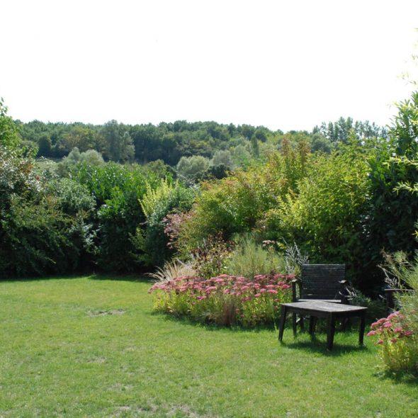 Création de jardins paysagers : gazon, arbres, haies, fleurs