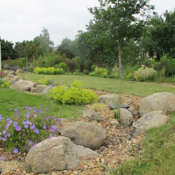 Agencements paysagers : aménagement végétal