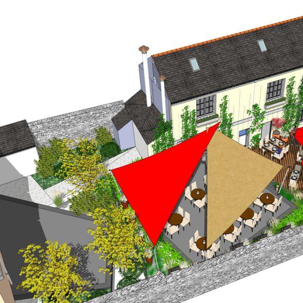 Conception d'espaces paysagers pour les professionnels